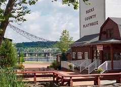 Bucks County Playhouse, New Hope, PA (The Wide Wide World) Tags: buckscounty pennsylvania pa newhope theater river delawareriver