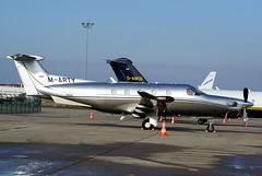 Pilatus PC12 ~ M-ARTY (Aero.passion DBC-1) Tags: dbc1 aeropassion david biscove aviation avion aircraft plane spotting lbg bourget pilatus pc12 ~ marty