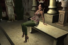 Roman Reverie (ErikoLeo) Tags: lumipro alafolie flickrlovers secondlife secondlife:region=strokerztoyzsecondlifeparcelstrokersvicebeachoceandrivesecondlifex99secondlifey103secondlifez27