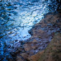 River Flow 024 (noahbw) Tags: d5000 nikon sawmillcreek waterfallglencountyforestpreserve abstract creek forest landscape minimal minimalism natural noahbw reflection ripples rock square stone summer water woods