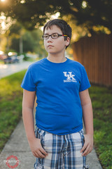 Wildcat for life (dfxphoto) Tags: kinder kids canon portrait street golden hour sunsetting florida kentucky blue outside sun friday