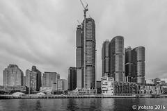 Barangaroo Skyline (orgazmo) Tags: fuji fujifilm fujix fujinon xpro2 xf1024mmf4rois australia downunder nsw sydney newsouthwales barangaroo skylines buildings monochrome blackwhite cityscapes