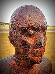 Another Place (perseverando) Tags: antonygormley sculpture iron men anotherplace crosby beach liverpool perseverando