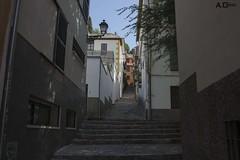Barrio del Realejo (A.Grau) Tags: nikon calle escaleras empedrado realejo barrio granada andalucia espaa