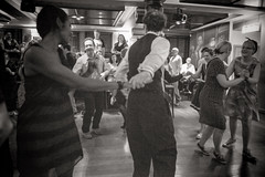 DSCF3759 (Jazzy Lemon) Tags: vintage fashion style swing dance dancing swingdancing 20s 30s 40s music jazzylemon decadence newcastle newcastleupontyne subculture party collegiateshag shag england english britain british retro sundaynightstomp fujifilmxt1 september2016 shagonthetyne 18mm hoochiecoochie