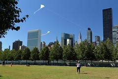 Kites & United Nations (Four Freedoms Park/NYC) (chedpics) Tags: newyork rooseveltisland fourfreedomspark