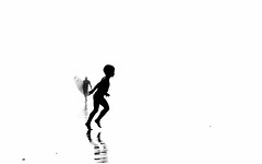 Silhouettes (susacu) Tags: silhouette beac atlantic surfer move