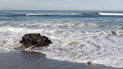 Rock Waves Sand (LeftCoastKenny) Tags: fortfunston pacificocean beach sand rock surf