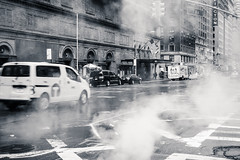 Winter in NYC (-*Marie*-) Tags: black white nyc new york city usa