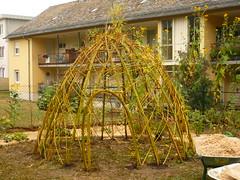 Weidenbauwerk (Jrg Paul Kaspari) Tags: trier feyen familienbildungssttte fidibus weidenbau weidenbauwerk naturnaher spielraum weidenkuppel salix