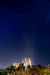 Gradara (ambrasimonetti) Tags: gradara castle castello rocca sky cielo longexposure stelle stars notte stellato pesarourbino marche italia