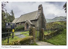 Church of St Peter, Martindale, Cumbria (Paul Simpson Photography) Tags: martindale mountain church countryside cumbria stpeters sonya77 lakedistrict landscape religion stpeter rural ullswater england remotechurch paulsimpsonphotography imagesof imageof photosof photoof september2016