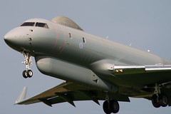 RAF SENTINEL R1 (andrew watts photography) Tags: raf sentinel r1 coningsby landing jet plane aircraft nikon d800 80400