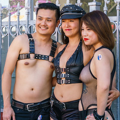 Group shot (MarinSD) Tags: folsom folsomstreet street sanfrancisco streetfair streets california bdsm leather