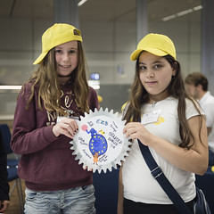 3 October 2016 Tren Auf! (European Central Bank) Tags: 10 2016 ecbmainbuilding europeancentralbank europischezentralbank frankfurtammain sendungmitdermaus trenauf