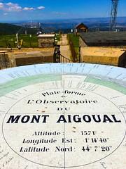 Mont Aigoual (JeanbaptisteM) Tags: mont aigoual montagne ciel iphone horizon vue chteau t sky