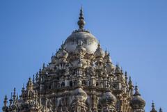 losing count (Tin-Tin Azure) Tags: mahabat maqbara palace mausoleum bahaduddinbhai hasainbhai junagadh gujarat india nawab 18th century chitkana chowk tomb baharuddin bhar blue sky ruin detail architecture