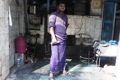 Paris Fashion Week: The Last Day (Mayank Austen Soofi) Tags: delhi walla baker radish bakery man lungi paris fashion week the last day