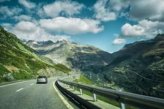On the way to the Bridge GOMS, Switzerland (oksana_korda) Tags: switzerland nature beautifulplace mountains trip landscape photography