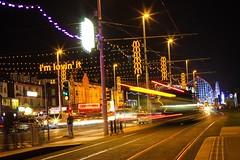 The Culture Of The Holidays Blackpool Blackpool Seafront BlackPoolPleasurebeach City Life Nightlife Nighyphotography Lightphotography Long Exposure Longexposurephotography Tram Motion Transportation Illuminated Night Blurred Motion Street Road Light Trail (trisan16) Tags: thecultureoftheholidays blackpool blackpoolseafront blackpoolpleasurebeach citylife nightlife nighyphotography lightphotography longexposure longexposurephotography tram motion transportation illuminated night blurredmotion street road lighttrail onthemove modeoftransport speed streetlight traffic city lightingequipment car landvehicle buildingexterior