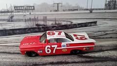 1960 David Pearson 59 Chevy Impala (G-Man's NASCAR Minatures) Tags: gcast custom slix rookie
