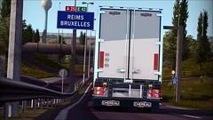 Go to Bordeaux (LePtitGamer) Tags: camion euro truck simulator cherau remorque jeu jeux