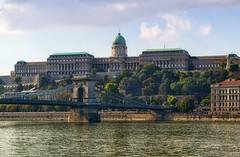 Budapest (tomas.jezek) Tags: budapest hungary royal palace bridge chain danube heritage history city