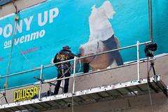 Venmo (Always Hand Paint) Tags: ooh outdoor colossalmedia alwayshandpaint skyhighmurals advertising colossal handpaint mural muraladvertising onlineservice