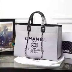 Chanel-Deauville-tote-Treschicshop (8) (TresChicShop.com) Tags: chanel tote handbag