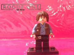 Jyn Erso v.2 (cullenjason72) Tags: lego star wars custom jyn erso rouge one