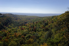 DSC_3391 (Stephen Biebel Photography) Tags: landscape northeastern leaves changing autumn fall october minnewaska newyork woods forsest trees hiking overlook scenic vistas view colors