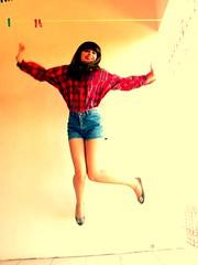 Jumping (melyescamilla1) Tags: jump jumping creativephotography saltar girl self fun happy happiness
