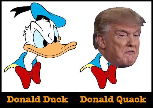 donald-trump-quack, From FlickrPhotos