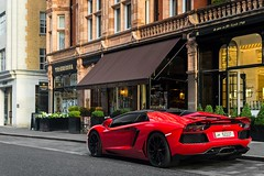 Rosso Mars. (Sawek Sulik) Tags: lamborghini lambo aventador lp700 roadster rosso mars rossomars dione italian super car supercar automotive exotic v12 london mayfair mountstreet uk nikon 2016 sawek sulik