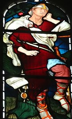[45658] St Editha, Tamworth : Marmion Windows (Budby) Tags: tamworth staffordshire church window stainedglass preraphaelite