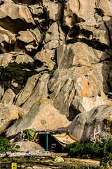 Primordiale (Autolavaggiobatman) Tags: capotesta mare trekking valledellaluna capanna hippie paradiso rocce sardegna primordiale