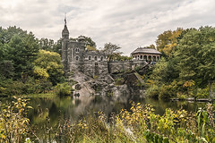 """Color of Autumn 2016 In NYC (Turtle Pond and Plant Life with Belvedere Castle Central Park In View) (nrhodesphotos(the_eye_of_the_moment)) Tags: dsc0109872 ""theeyeofthemoment21gmailcom"" ""wwwflickrcomphotostheeyeofthemoment"" autumn season turtlepond outdoor reflections shadows urban pond caste plantlife trees nyc manhattan architecture flowers centralpark colorofautumn2016innyc garden landscape stone belvederecastle waterfront"