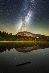 Night at Echo Lake, New Hampshire (miketaylorphoto) Tags: milkyway newhampshire nightphotography echo lake