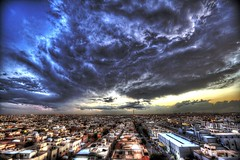 Riyadh Clouds (Faisal Bin Zarah) Tags: sunset clouds riyadh uploaded:by=flickrmobile flickriosapp:filter=nofilter