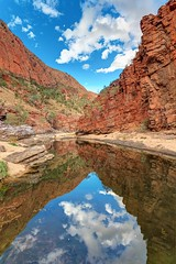 in the pound again... (djgr) Tags: water clouds rocks australia outback gorge chasm northernterritory