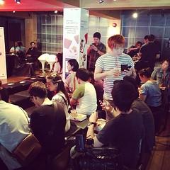 นักข่าวมาร่วมงานแถลงข่าว #เปิดตัว #ซัมซุงกาแลคซี่เอส4 #ทรูมูฟเอช