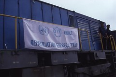 (Sergio Vieira de Mello Foundation) Tags: signs sergio train de foundation vieira eastasia mello voluntaryrepatriation
