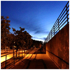 End of the day (IamJomo) Tags: camera apple metro maryland iphone jomo forestglen iphone5 takenwithaniphone swpmoblog iphoneography
