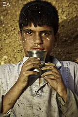 Textured (Ebtesam Ahmed) Tags: poverty texture look work justice eyes child labor poor hard right sweat labour