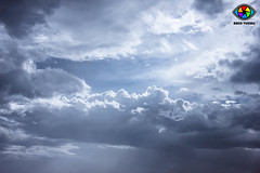clouds over Qatar (Raed Visuals) Tags: storm rain clouds canon d egypt rainy arab visuals doha qatar salah raed 550 550d