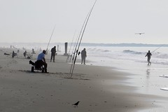 Fishermen in the morning fog (runneralan2004) Tags: newjersey capemay