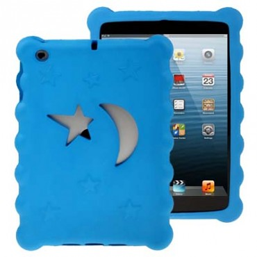 iPad Mini Blue Moon and Star Case