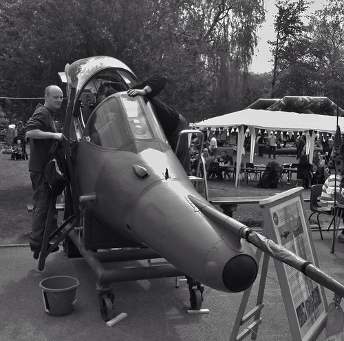 Harrier at School Fete