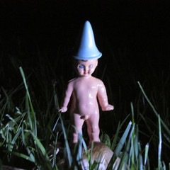IMG_0303 (Toyz in the attic) Tags: mushroom night garden pixie fairy faerie