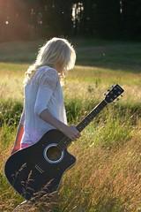 peaceful (Rachel_Lyn) Tags: washington guitar blonde bestfriend summerevenings alfalfafields chattaroy